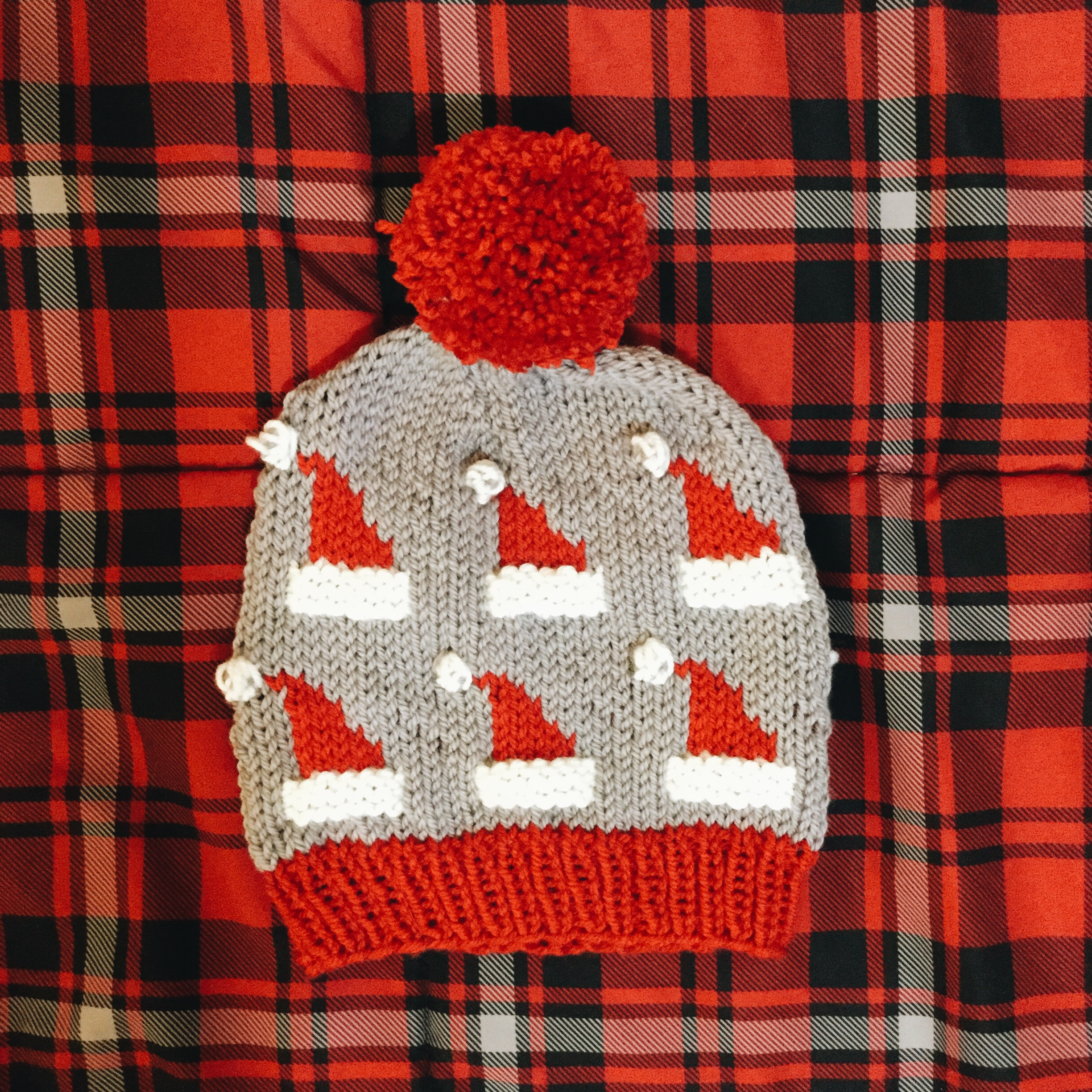 3d5e4f605c317 Santa s Hat Beanie · A.darling knits · Online Store Powered by Storenvy