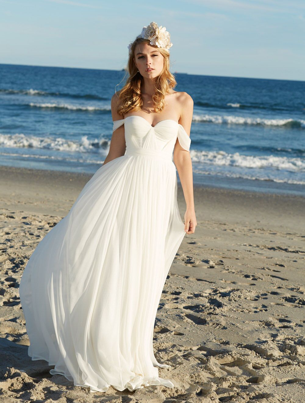 13da811ad9 FREE Shipping DHL Off The Shoulder White Bridal Gown,Bridesmaid  Dress,Formal Gown With Draped Bodice