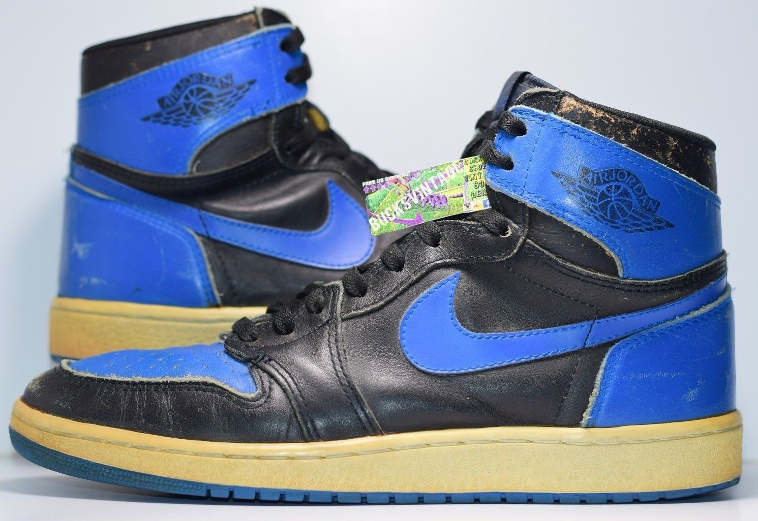 cheap for discount 95ceb 0497f Size 11 | 1985 Nike Air Jordan 1 High OG ROYAL Authentic Vintage 80s  Collector RARE from BucksVintage