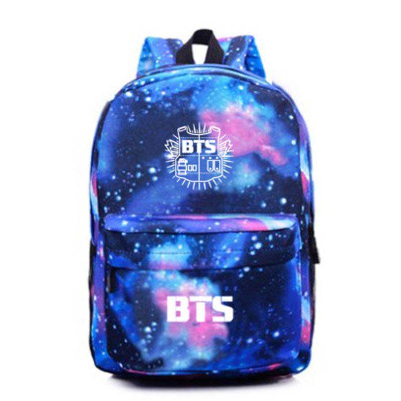 BTS Galaxy Logo Backpack on Storenvy