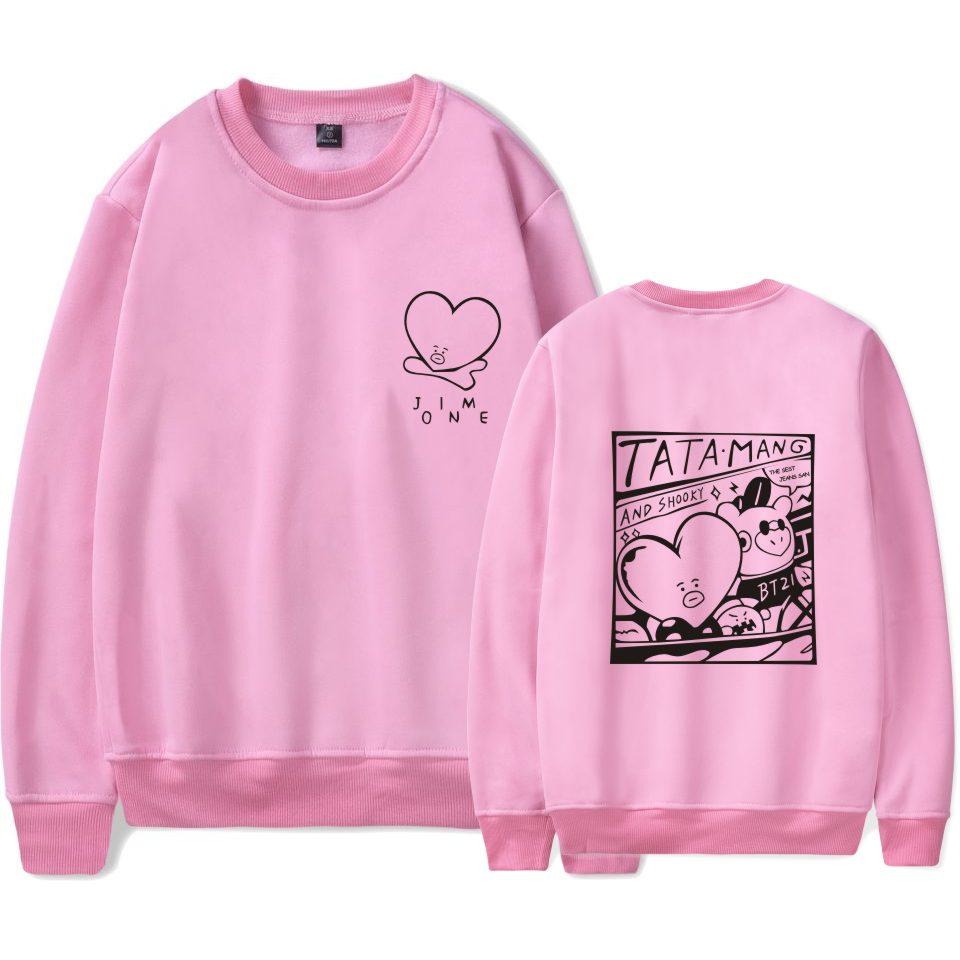BTS BT21 Taehyung style TATA-MANG & SHOOKY sweatshirt on Storenvy