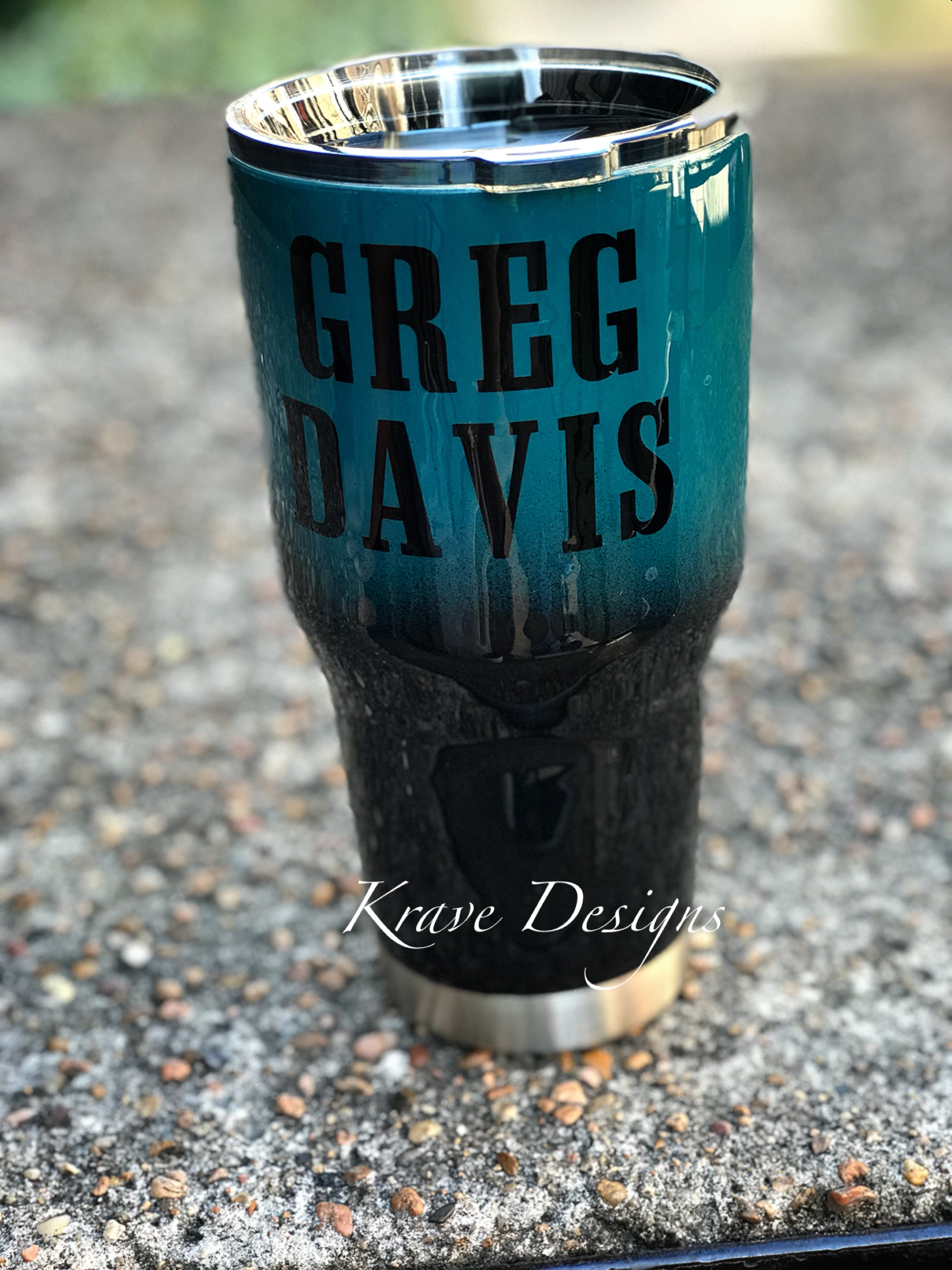 new arrival 00a97 ec64a Philadelphia Eagles Stainless Steel Tumbler from Krave Designs Custom Gifts