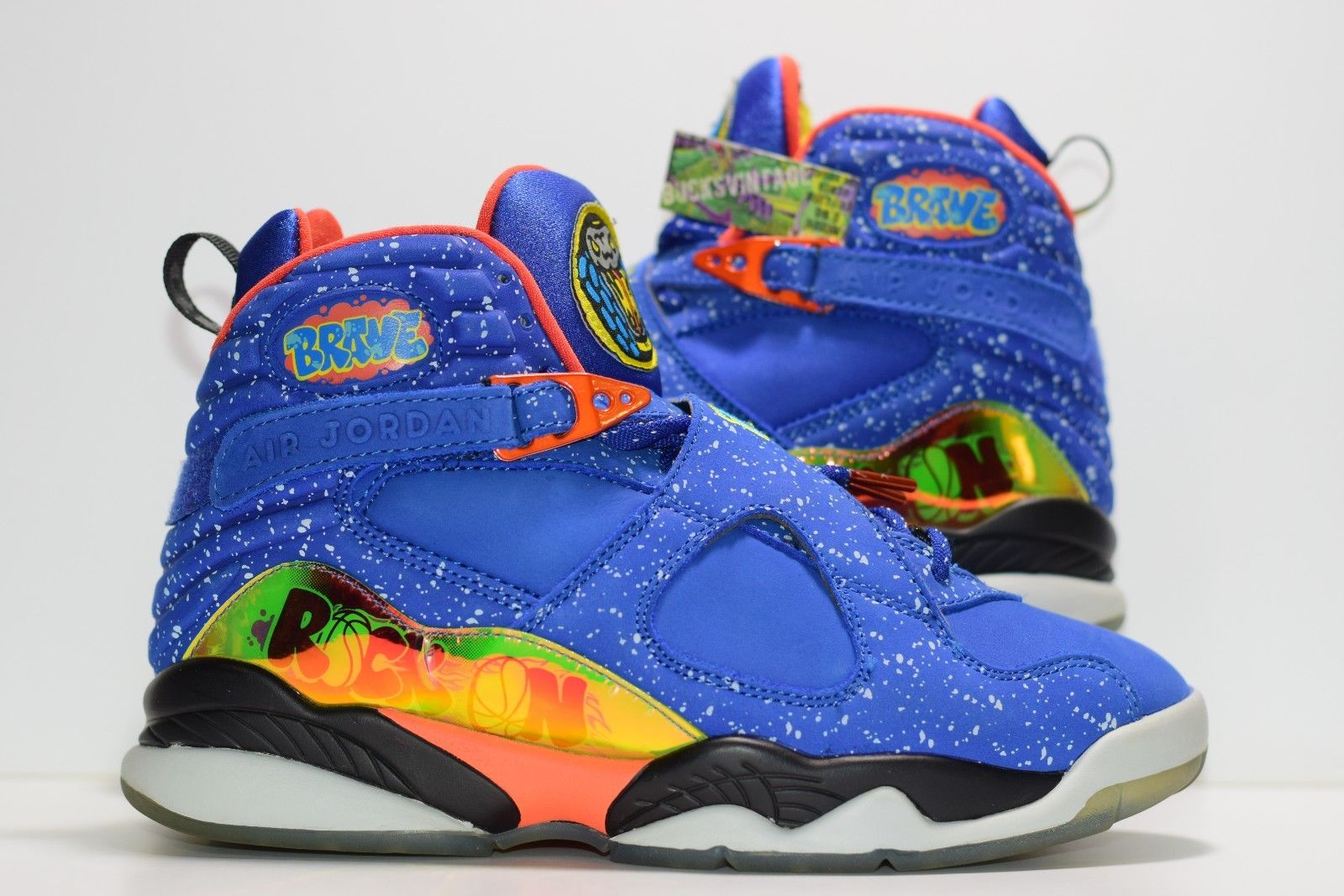 wholesale dealer 0151f 1fd21 Size 8 | 2014 NIke Air Jordan 8 Retro Doernbecher from BucksVintage