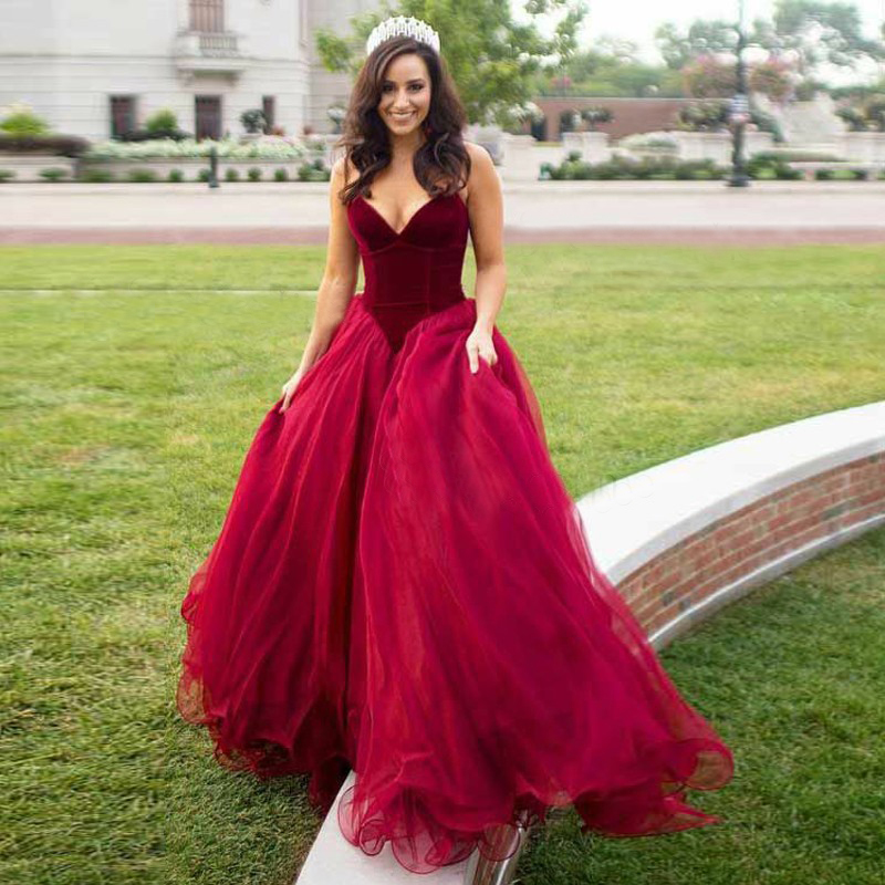 Ball Gown Prom Dresses,Sweetheart Evening Gown,Sleeveless Floor ...