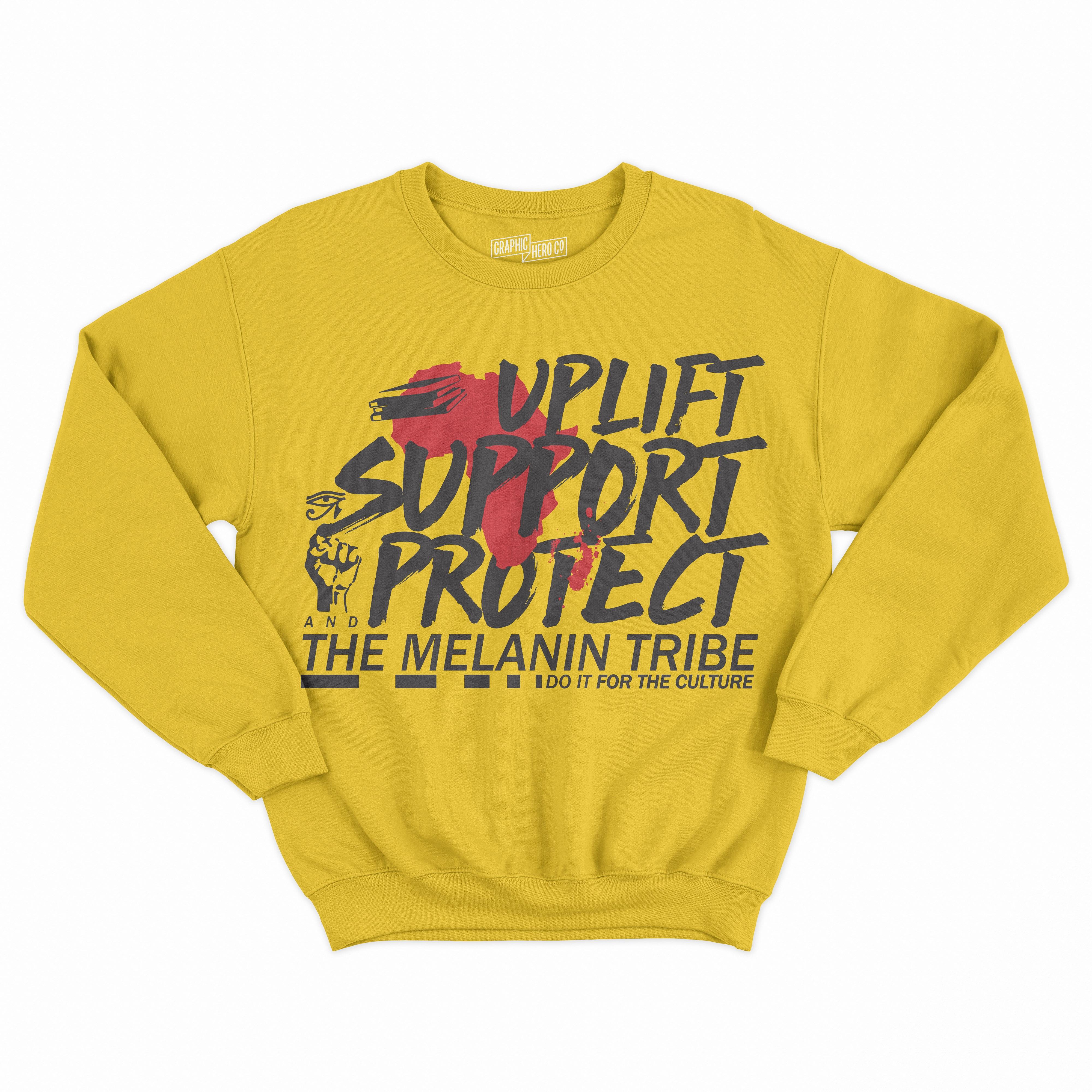 44710032 Uplift, Support, Protect Sweatshirt · THE UNIVERSITY CLOSET, LLC ...