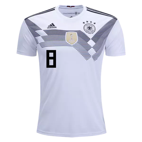 competitive price f5c9d 4ed45 Toni Kroos #8 Germany National Team Home Soccer Jersey,Deutschland Men's  Stadium Shirt White sold by HoHo Jersey Collection