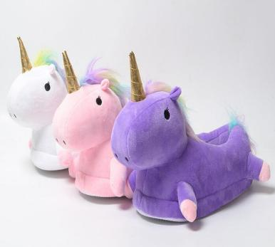 e76f7c528ae FREE Shipping LED Unicorn Plush Slippers · Sheloveit · Online Store ...
