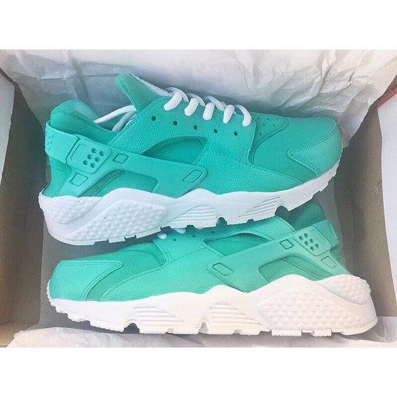 best website 56a37 4f8d8 Blue Cyan & White Nike Air Huaraches sold by SneakerSuperShop
