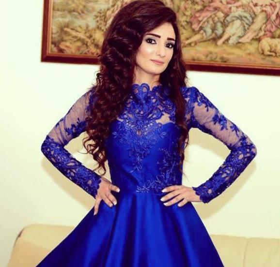 fbd06d637f7 Royal blue lace homecoming dresses