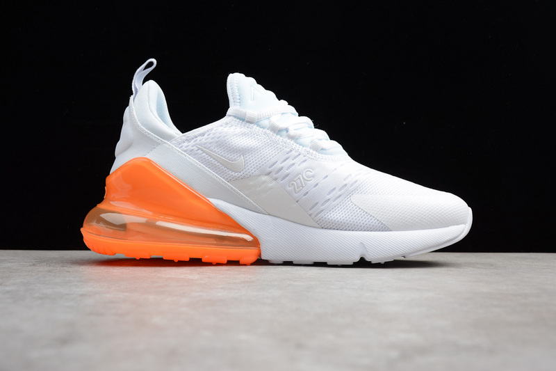 ... Fashion Nike Air MAX 270 White Orange AH8050-102 - Thumbnail 3 ... baacf40df0