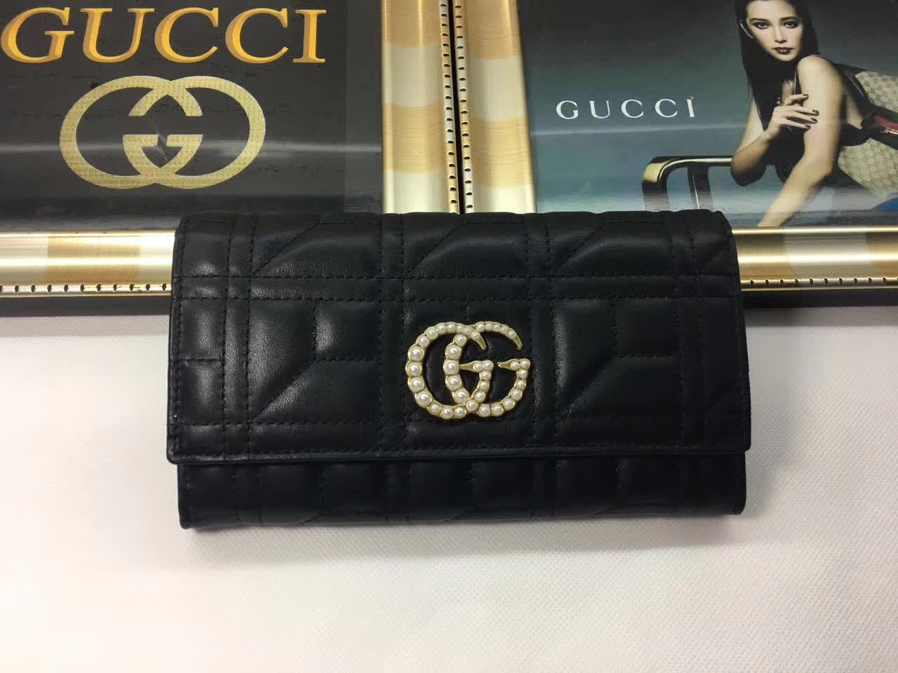 4c701982fdc Gucci GG Marmont Medium Quilted Flap Walle on Storenvy