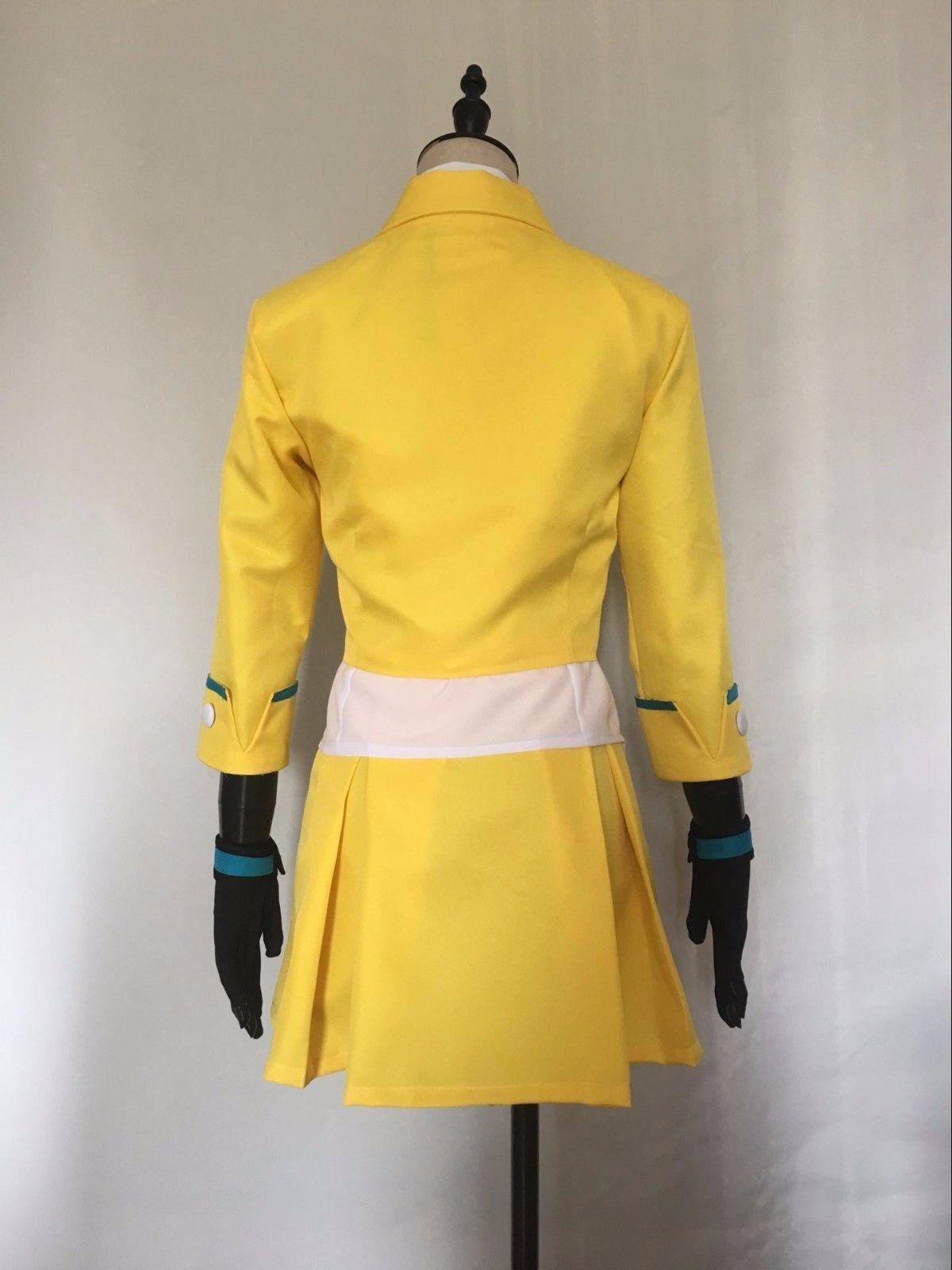 new Ace Attorney Athena Cykes Kidzuki Kokone Uniform Cosplay Costume