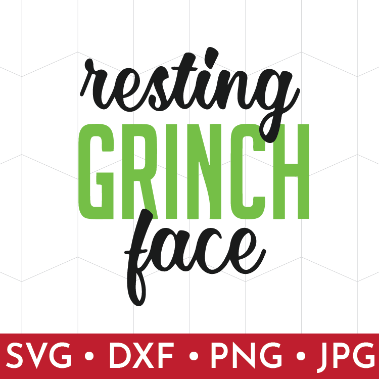 330986863a0ac Resting Grinch Face Cut File · That s What Che Said The Shop ...