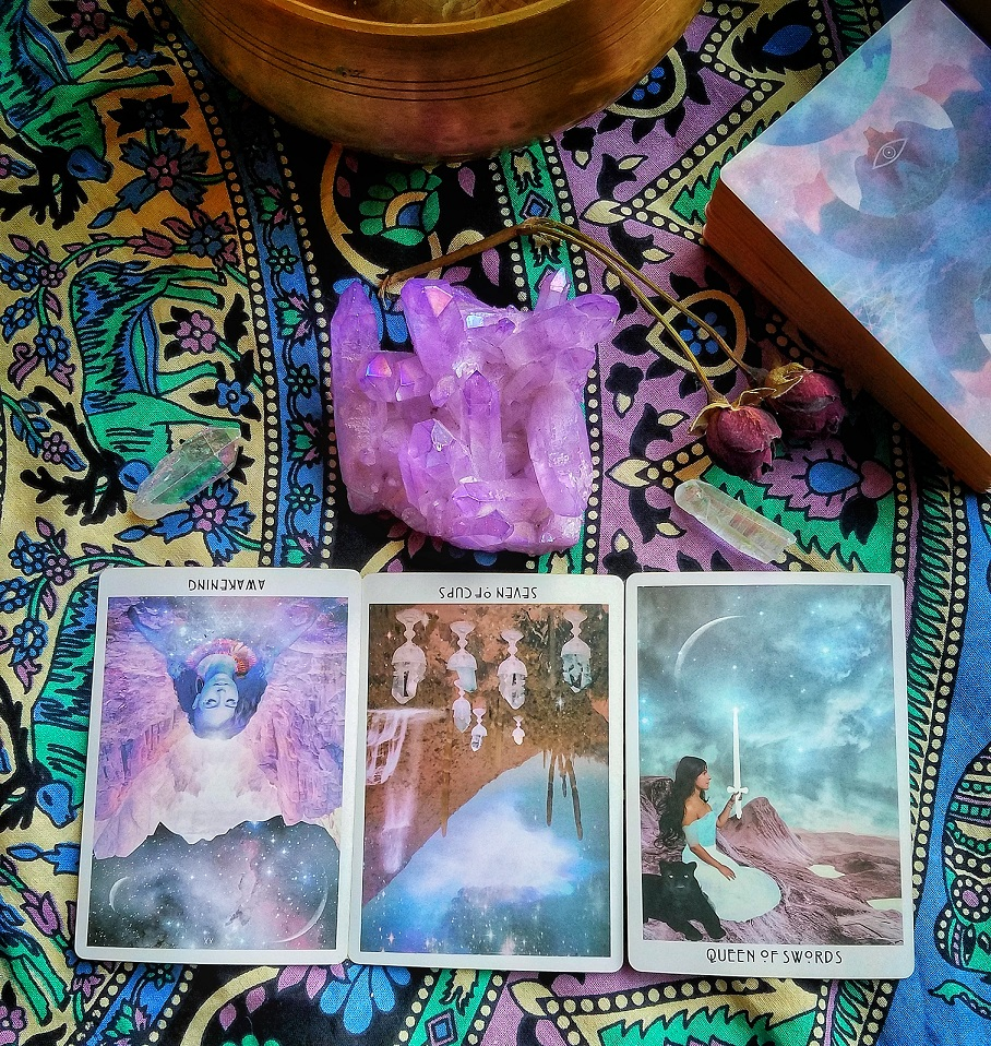 Past, Present & Future Reading from CRYSTALIS