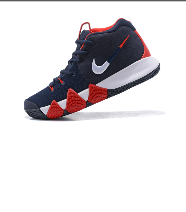 9b079609099c New Arrivel Nike Kyrie Irving 4 Navy Blue White Red Men s Basketball Shoes  - Thumbnail ...