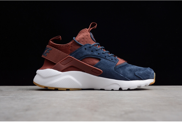 7e23012057bc Nike Air Huarache Ultra ID Suede Blue Brown  AvailableNow  LinkInBio ...