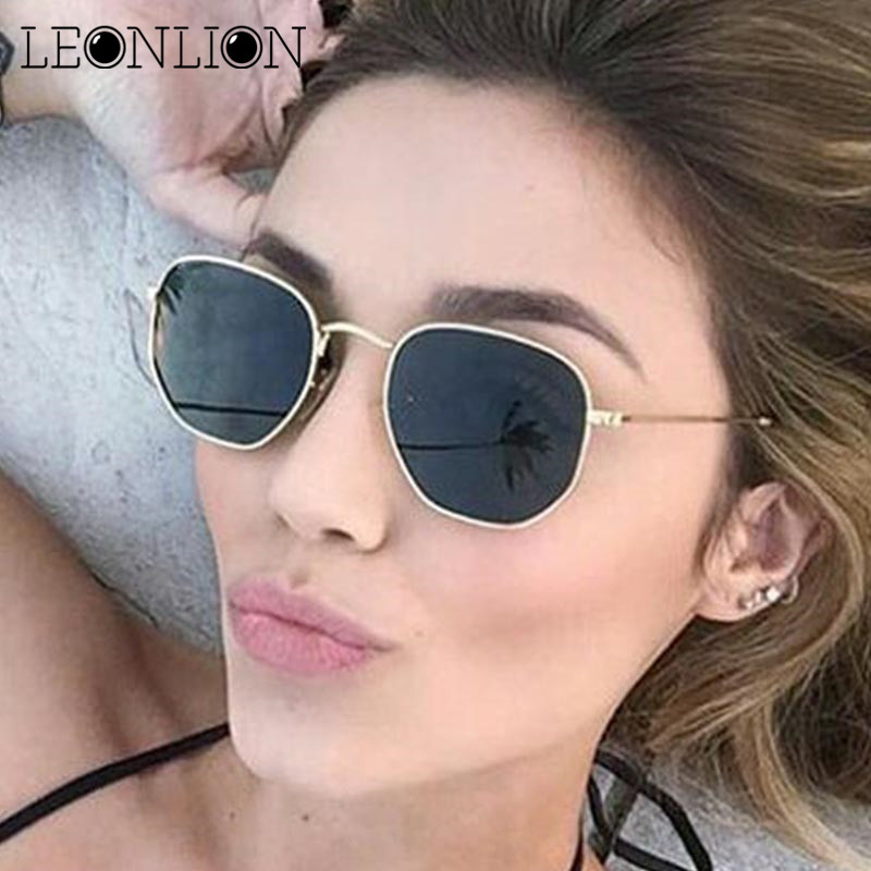 265d8db1b6bb9 LeonLion 2018 Polygonal Women Sunglasses Men Glasses Lady Luxury Retro  Metal Sun Glasses Vintage Mirror UV400 oculos de sol on Storenvy