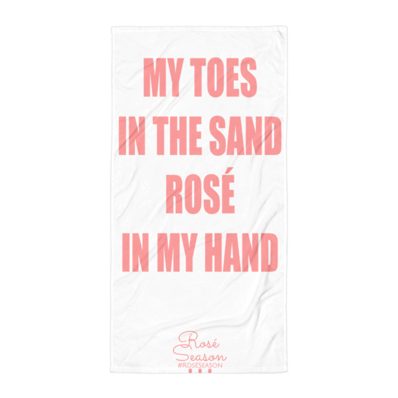 Featured On Bravos Summer House Rosé Beach Towel My Toes In The