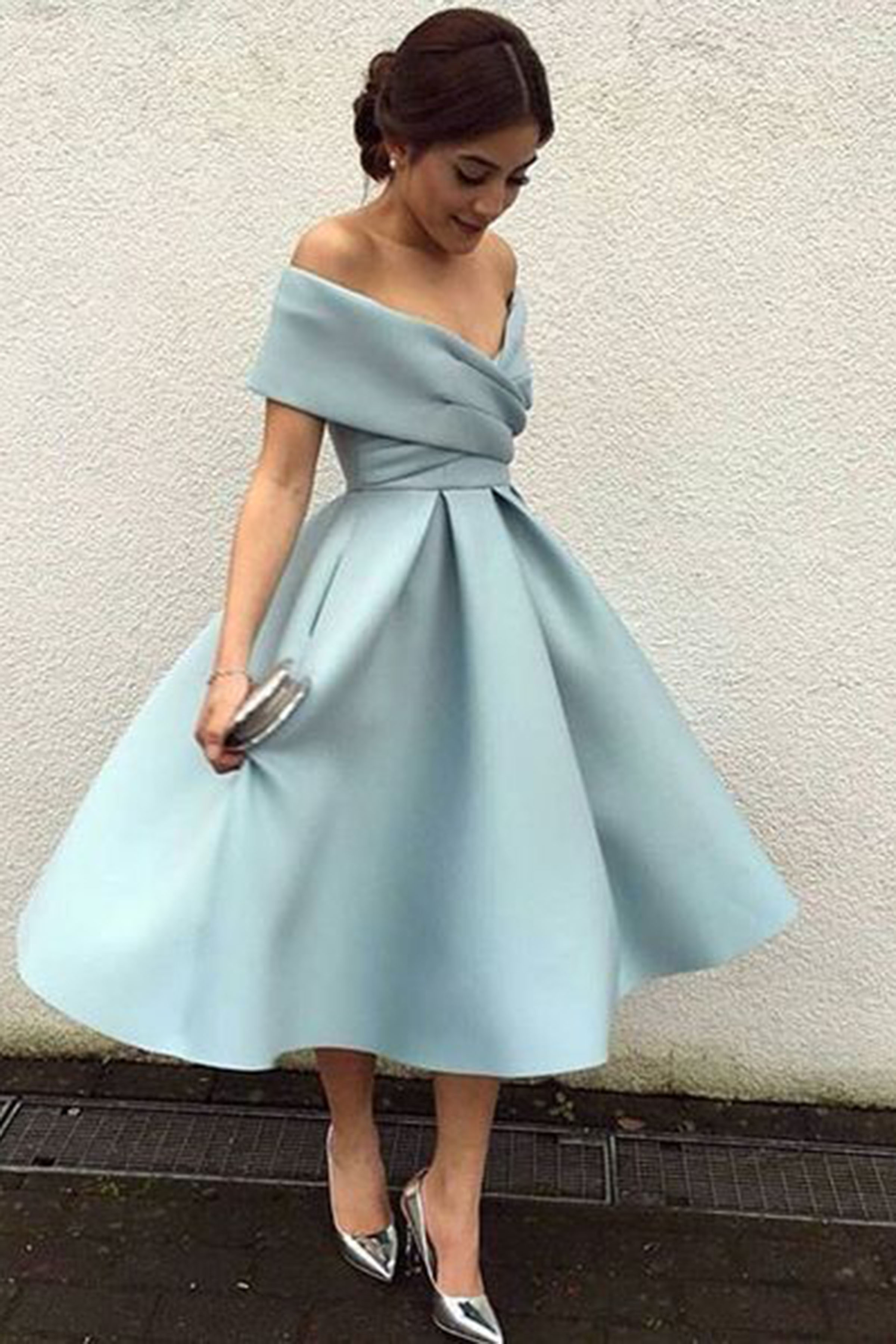 d7f99862db6 Sky Blue Short Homecoming Dresses - Gomes Weine AG