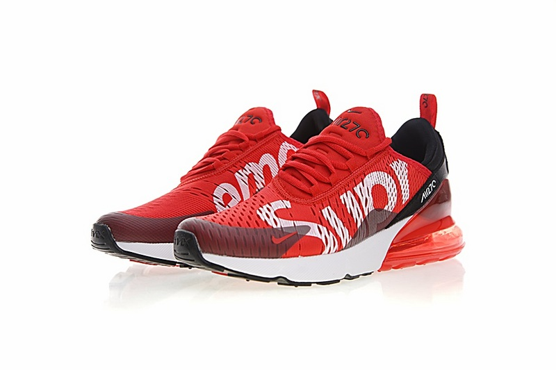 b43fa06d030 Supreme x Nike Air MAX 270 white Running Shoes AH8050-610 on Storenvy
