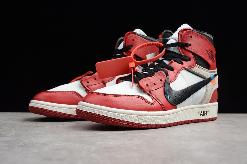 446df21b ... Off White x Nike Air Jordan 1 Retro High OG AA3834-101 shoe - Thumbnail