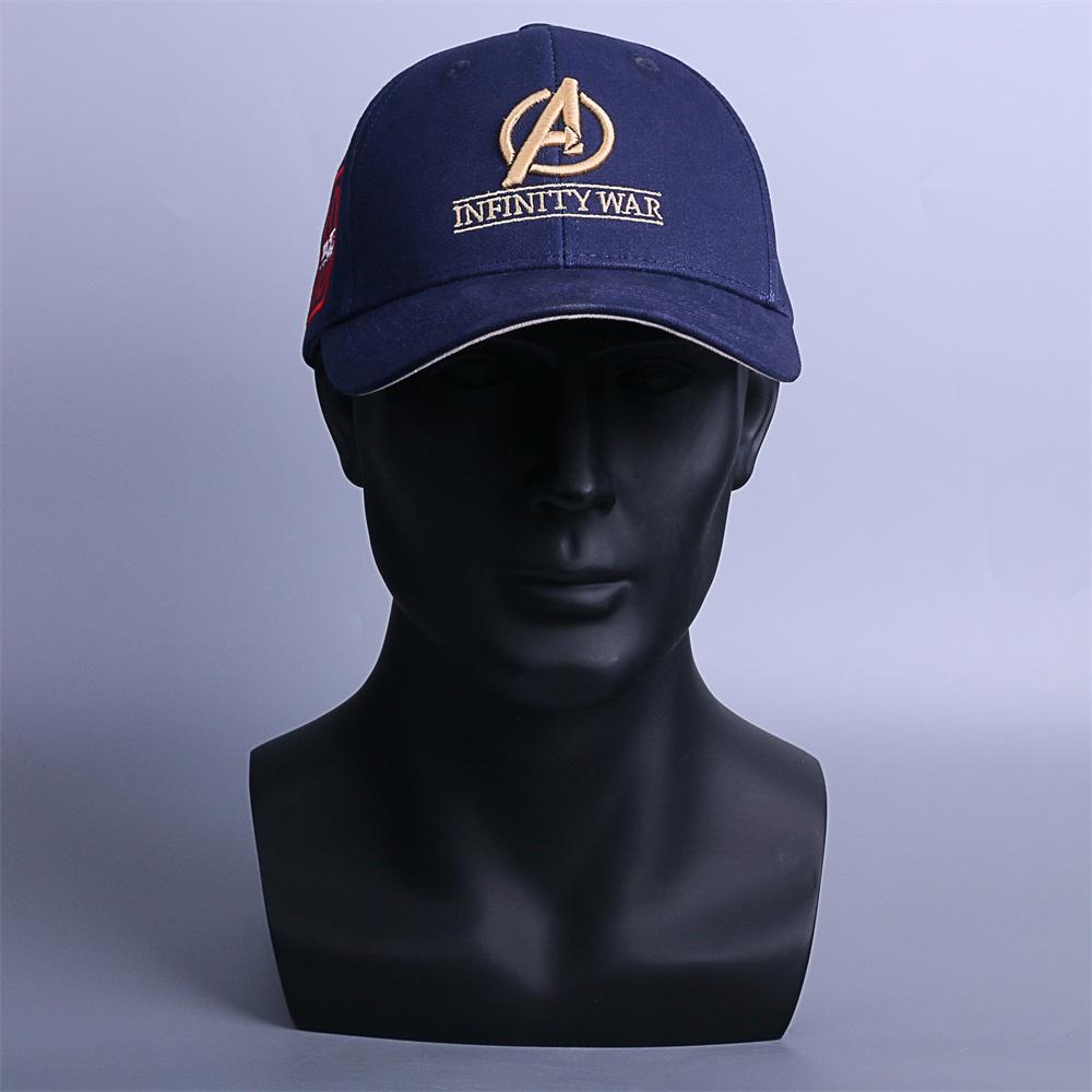9a7c1511 Infinity War Crew Hat Equip Embroidered Infinity Gauntlet Cap Marvel  Avengers