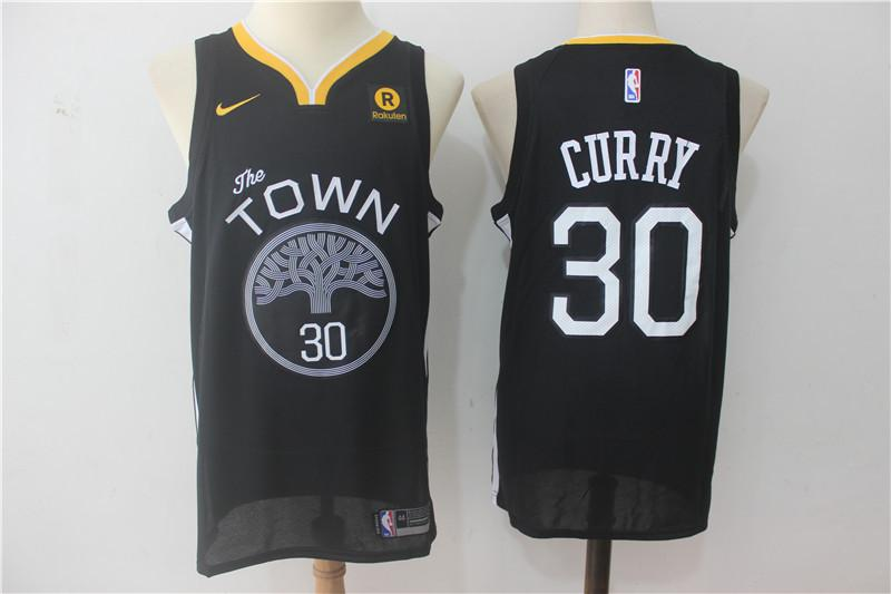 new concept c6ce9 2004d MENS 2018 NEW WARRIORS #30 STEPHEN CURRY BASKETBALL JERSEY from yaligo
