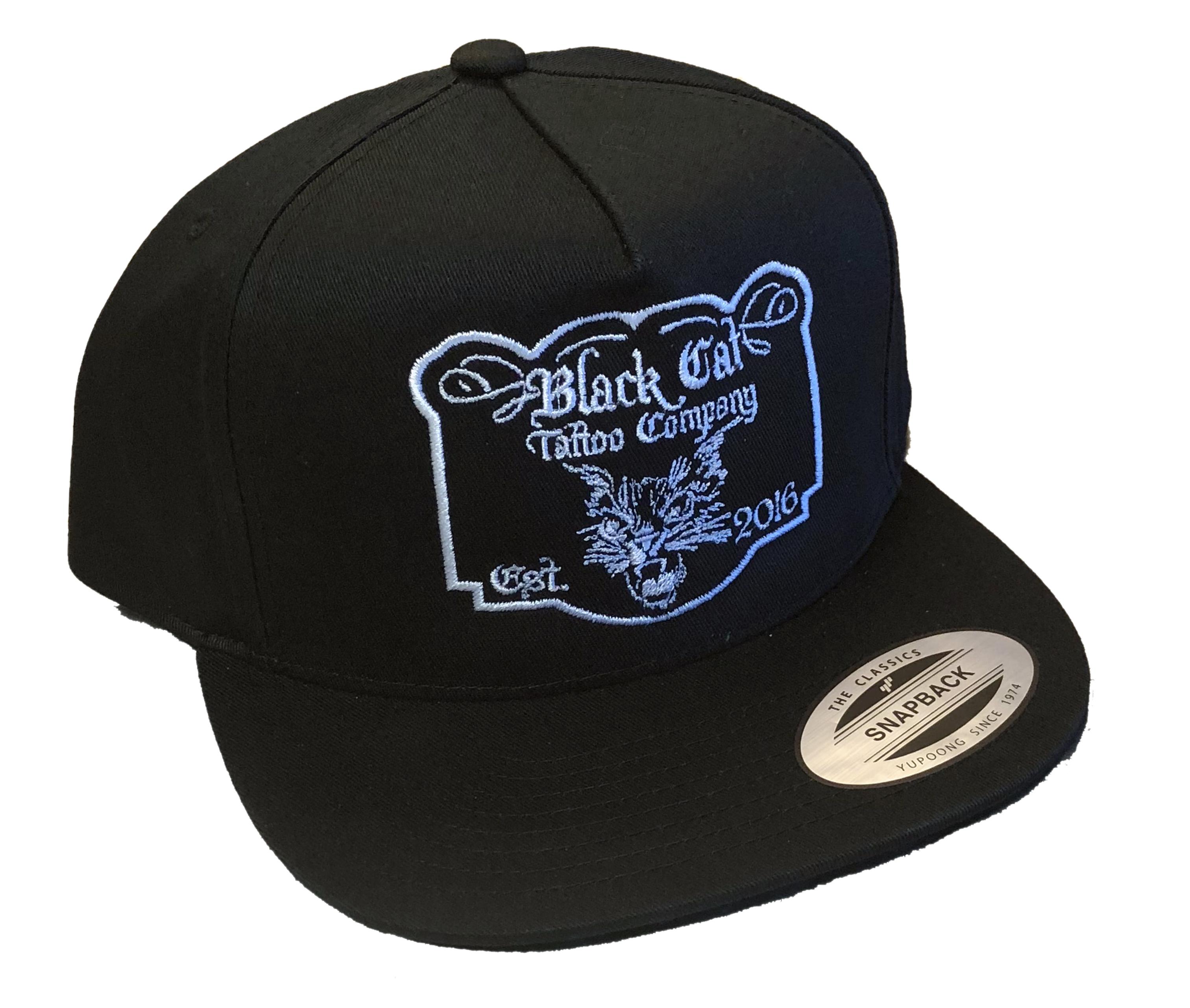 Black Cat Snapback · Black Cat Tattoo Company · Online Store Powered ... e10e0cd128d