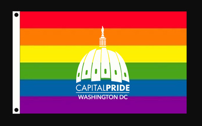 Capital Pride, Rainbow Flag