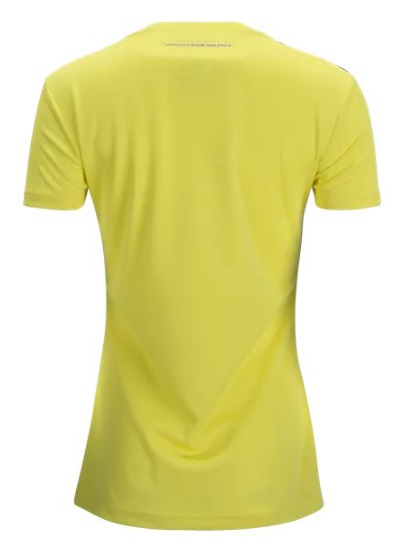 100% authentic 3c6f6 ebfdb Custom Colombia Women's Home Soccer National Team Jersey 2018 Shirt Yellow  from SportsWorld2016
