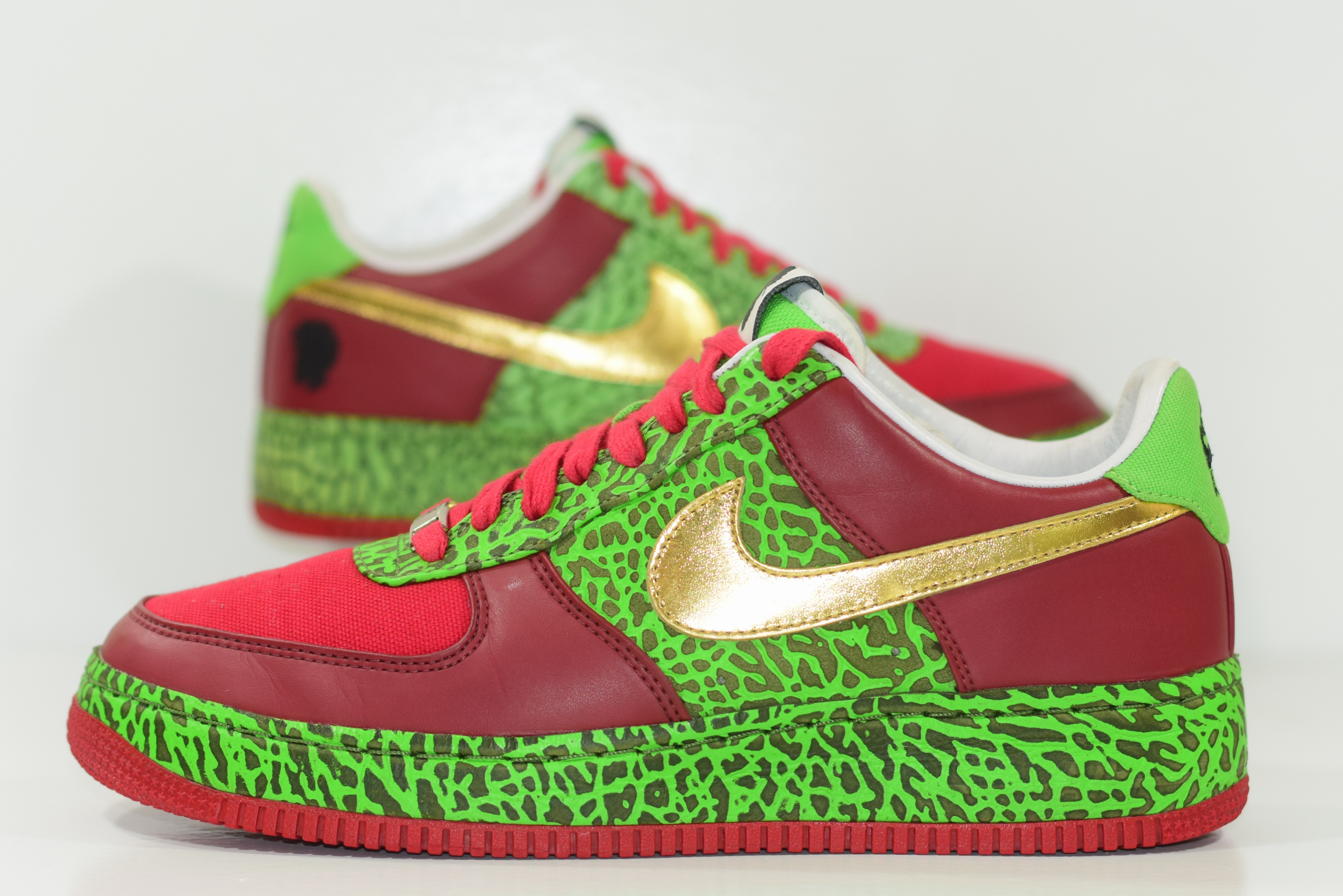 best sneakers 37fec 33fc9 Size 9.5   2008 Nike Air Force 1 Supreme QUEST LOVE SAMPLE on Storenvy