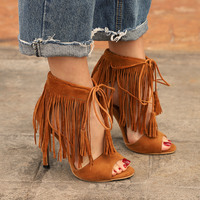 woman fashion sexy high heels shoes sandals laceup tide