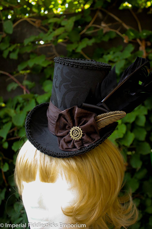 Quillbore - Steampunk Mini Top Hat on Storenvy e5d8e5002c0