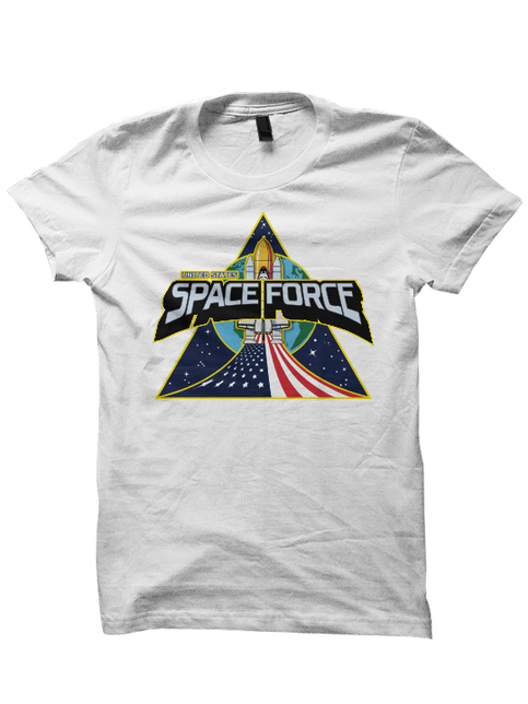 Space Force T Shirts President Trump Shirts Separate But