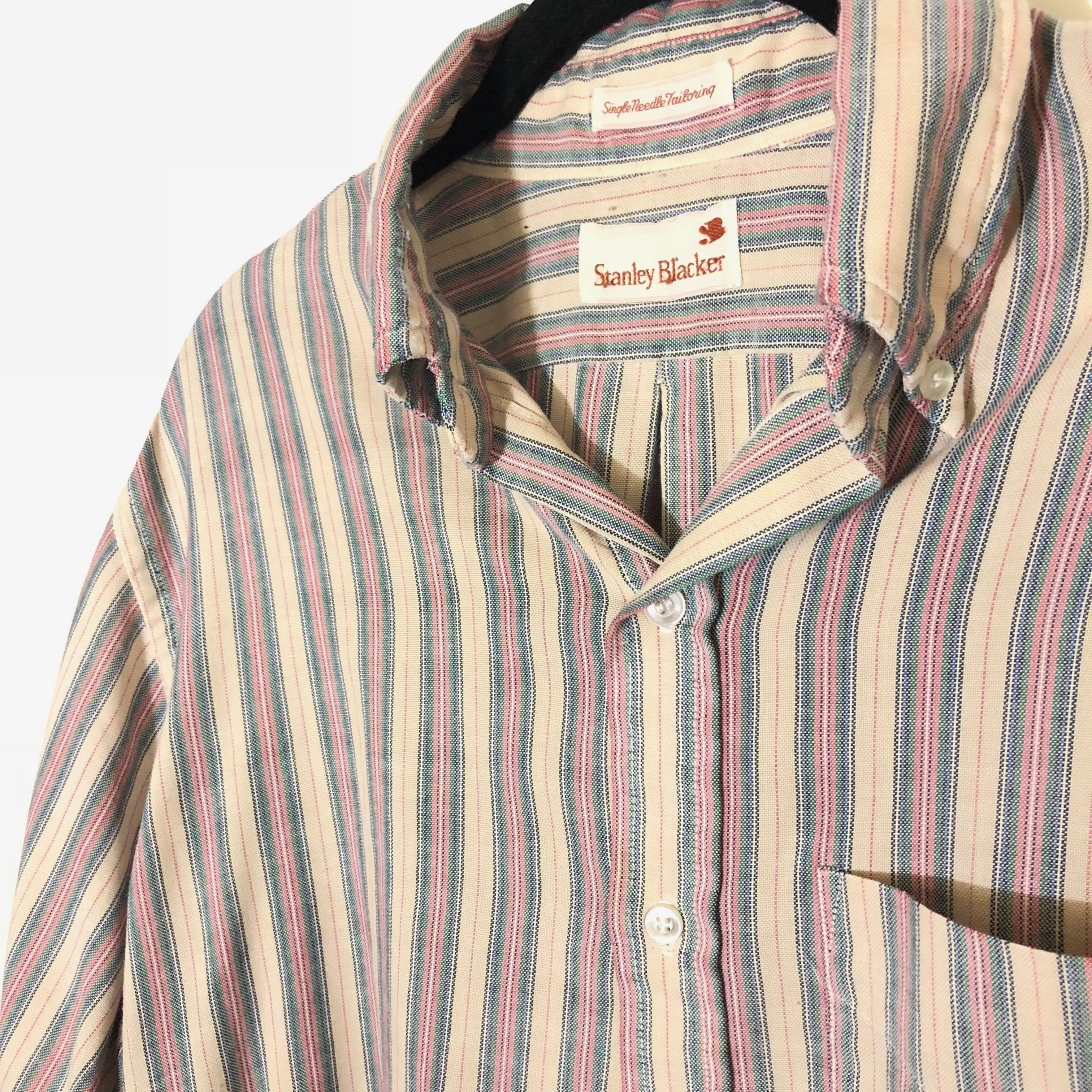 Vintage Single Needle Tailoring Button Up on Storenvy a3d9914de