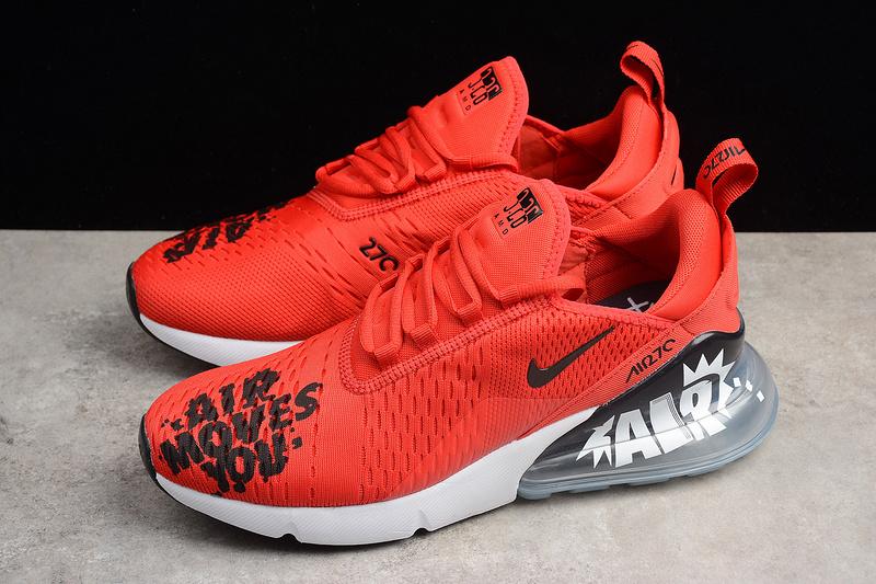 half off bfcf1 fdb5d Fashion Nike Air MAX 270 Red Running Shoes BQ0742-995