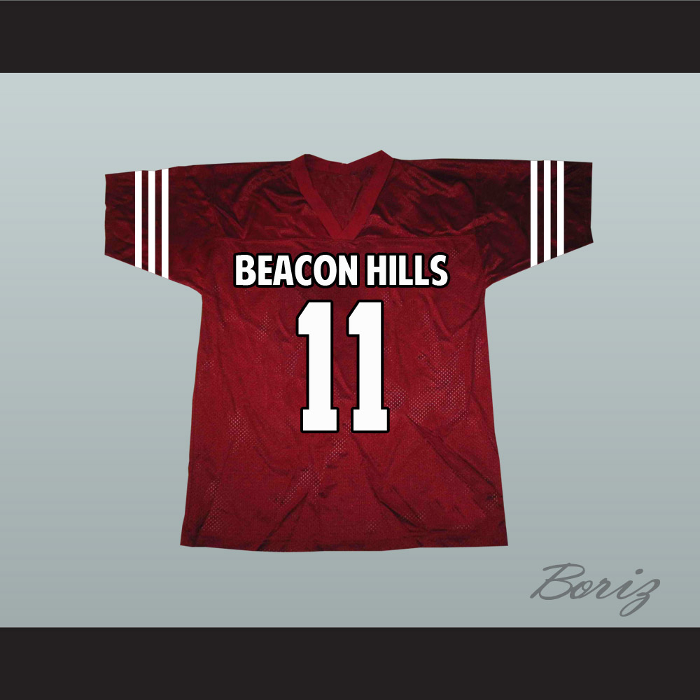 6d6e48042028 Scott McCall 11 Beacon Hills Lacrosse Jersey Teen Wolf TV Series New ...