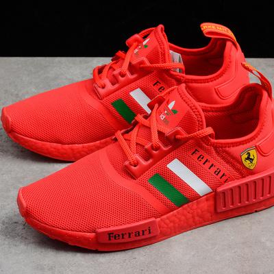 e812a735edab Ferrari x adidas nmd boost r1 red runner shoes ba7788