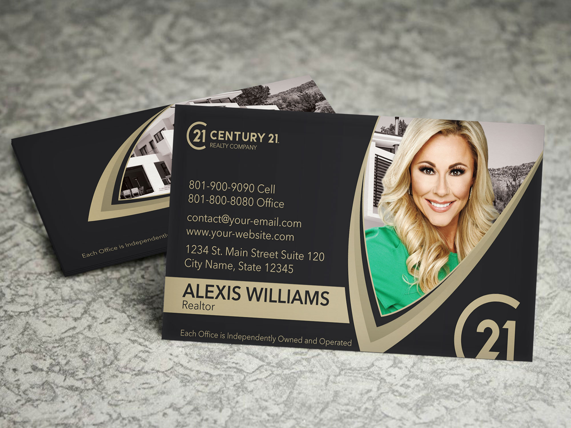 Century 21 Business Card On Storenvy