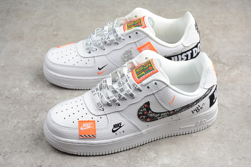 "Nike Air Force 1 JDI PRM ""Just Do It"" White Shoes on Storenvy"