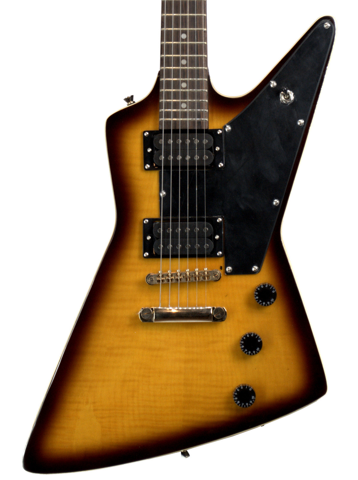Explorer Style Guitar : fishbone fexpg 100 ts explorer style solid body electric guitar music express canada online ~ Russianpoet.info Haus und Dekorationen