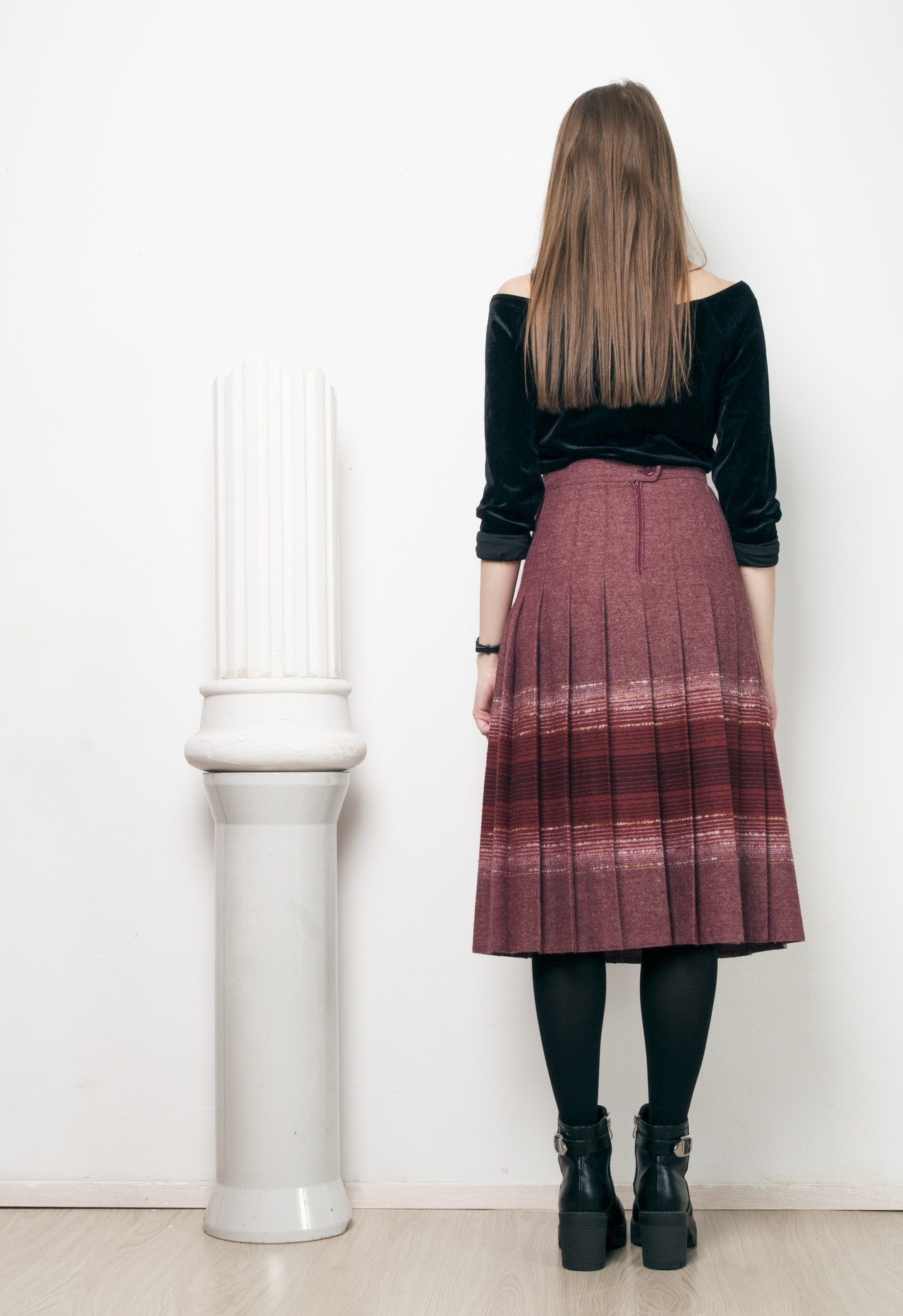 b8d8c11f 70s vintage pleated hippie skirt · Pop Sick · Online Store Powered ...
