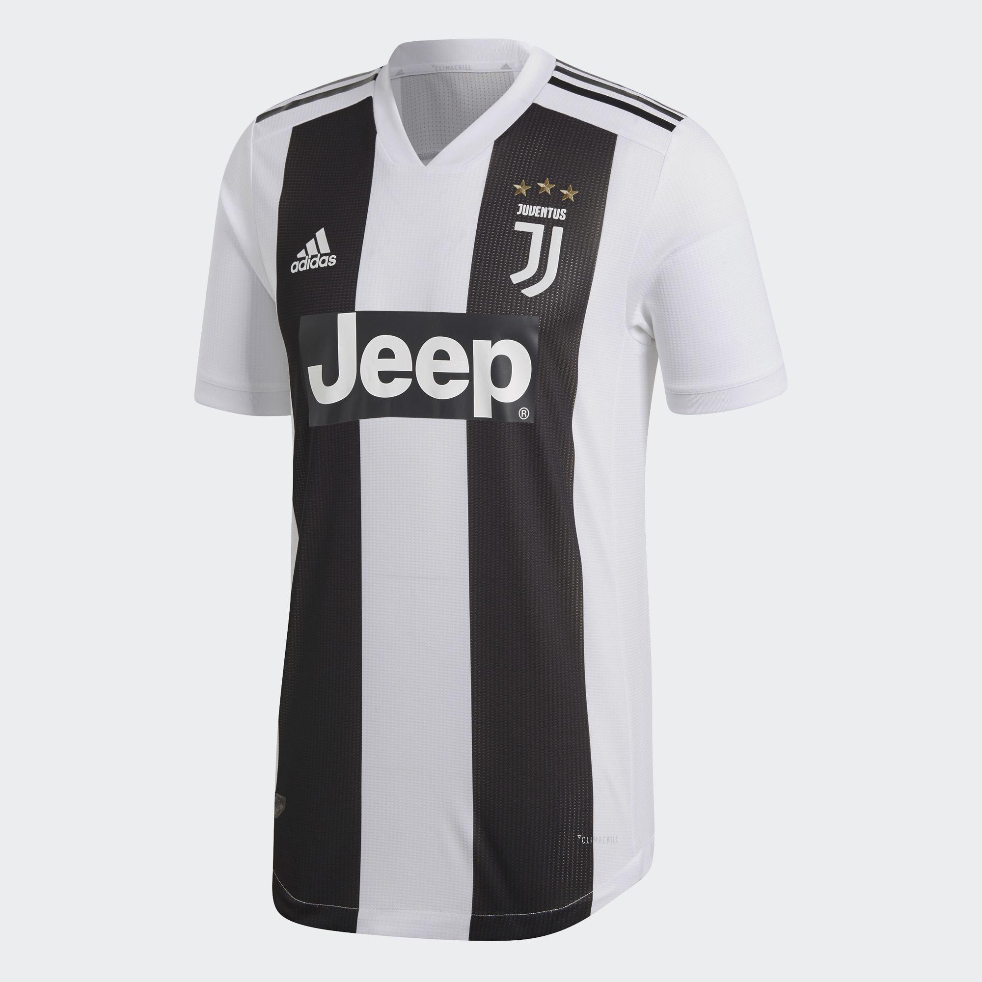 Juventus FC 2018 2019 Home Kit Men s Soccer Jersey Football ... 578c15ece