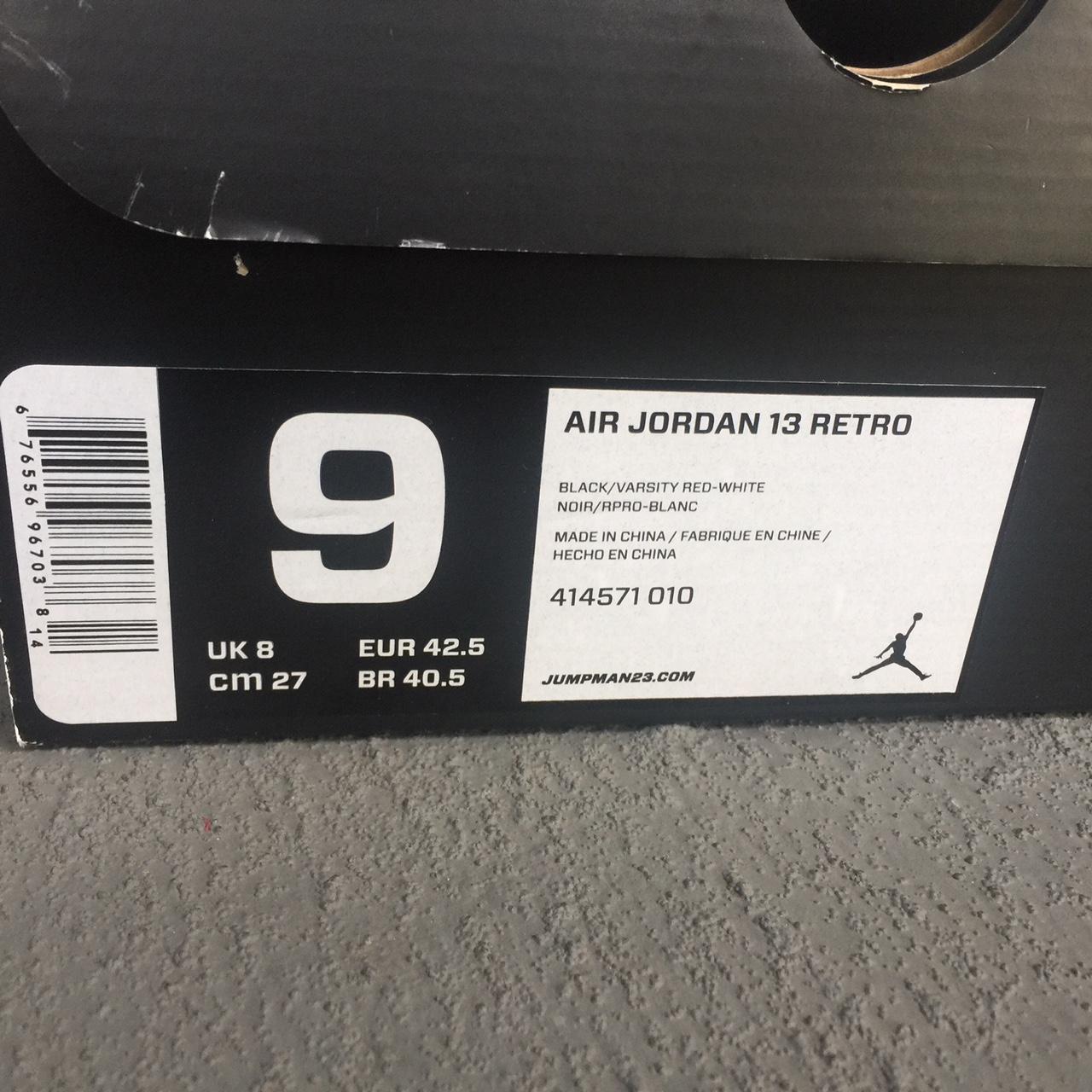 37c658e5e6b776 Nike  Air Jordan Retro 13
