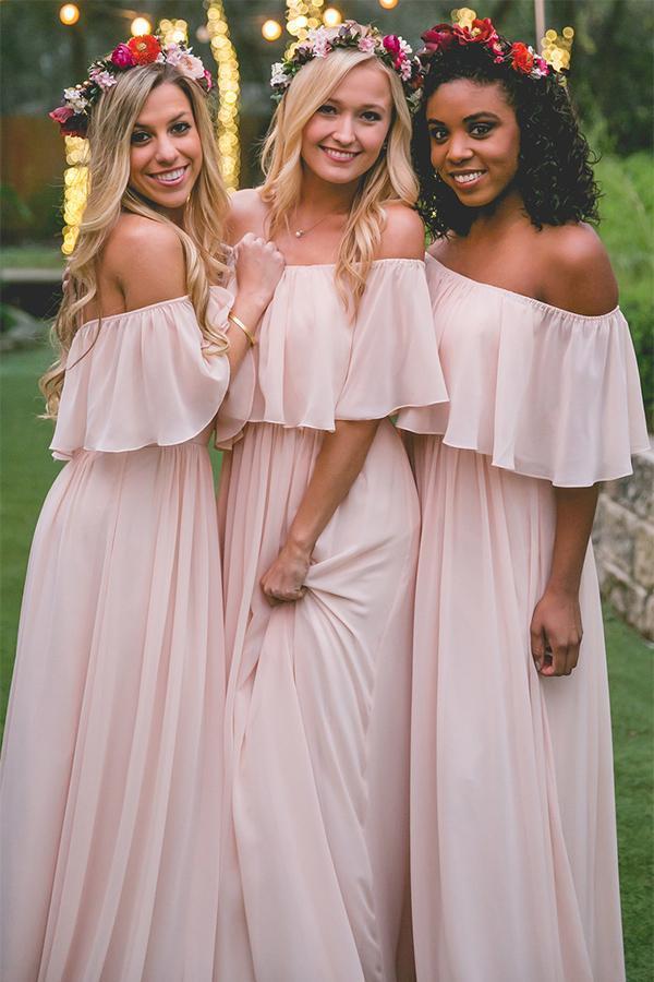simple elegant chiffon dresses