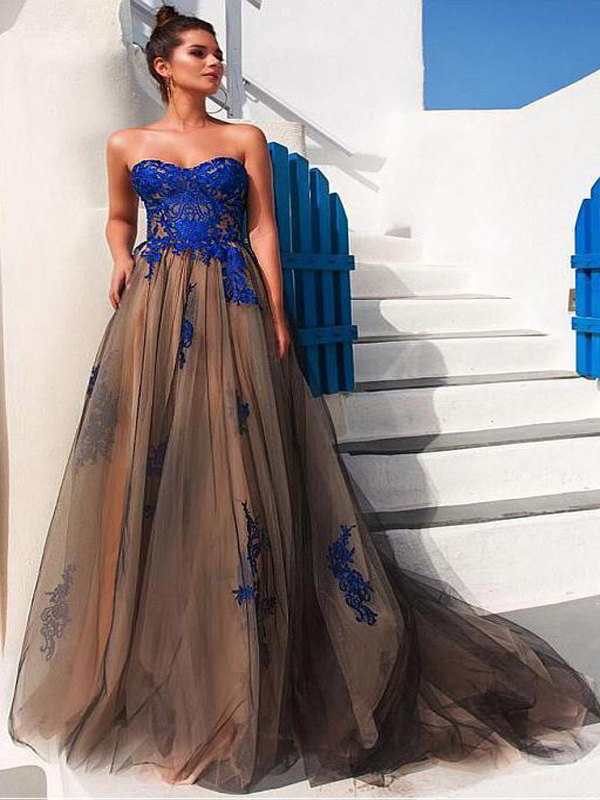 Amazing Open Back Prom Dresses 2018