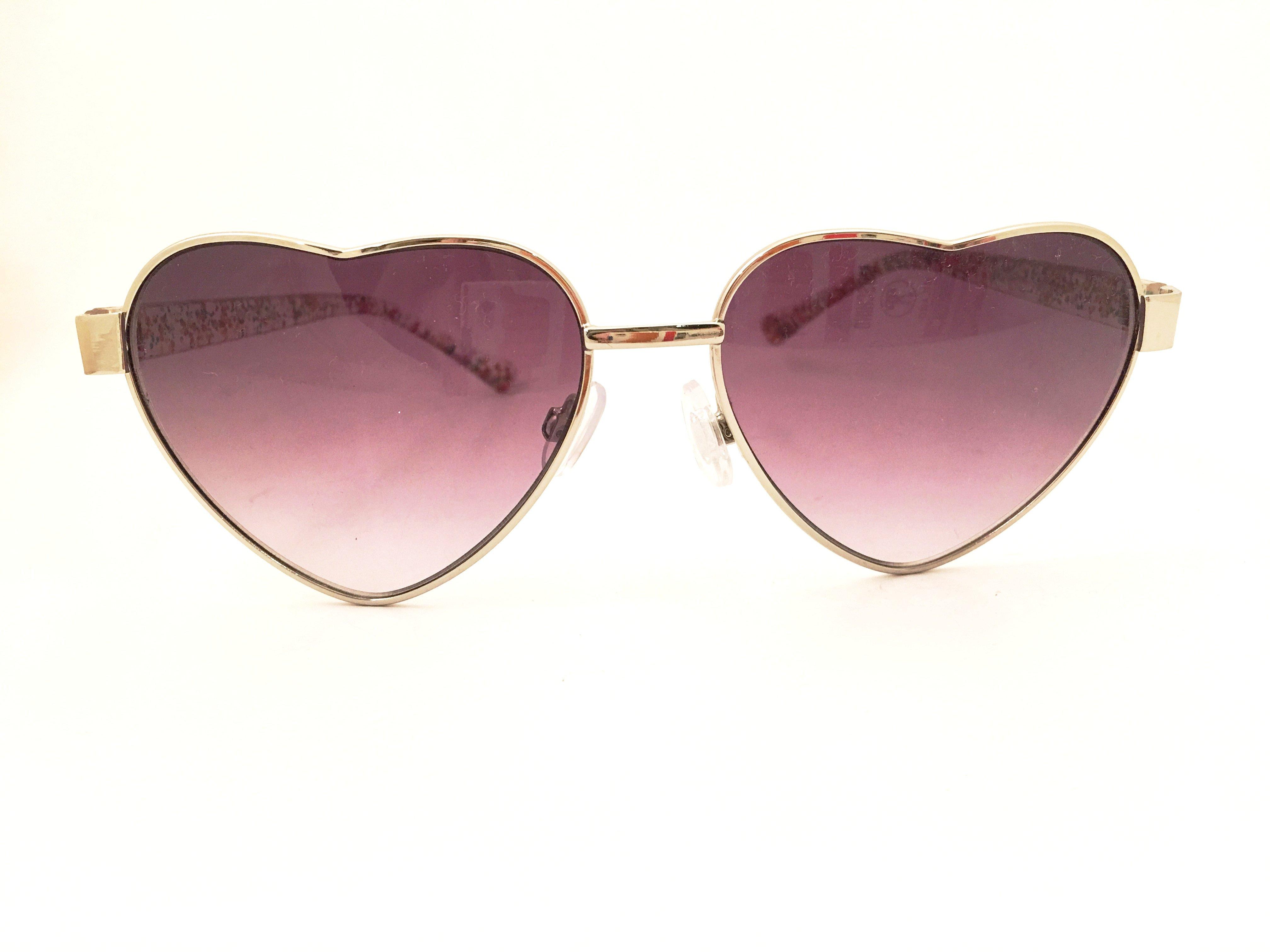 88db592583 Heart Lenses Sunglasses Confetti Lucite Frame Trend Eyewear on Storenvy