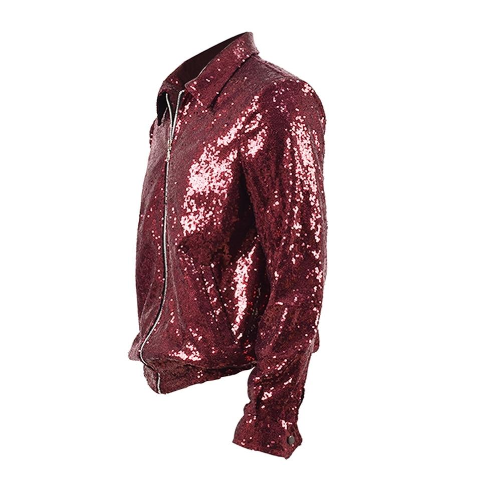 b71430a0 BTS] Jungkook ''Fake Love'' Red Sequin Jacket · Kpop Cloud · Online ...
