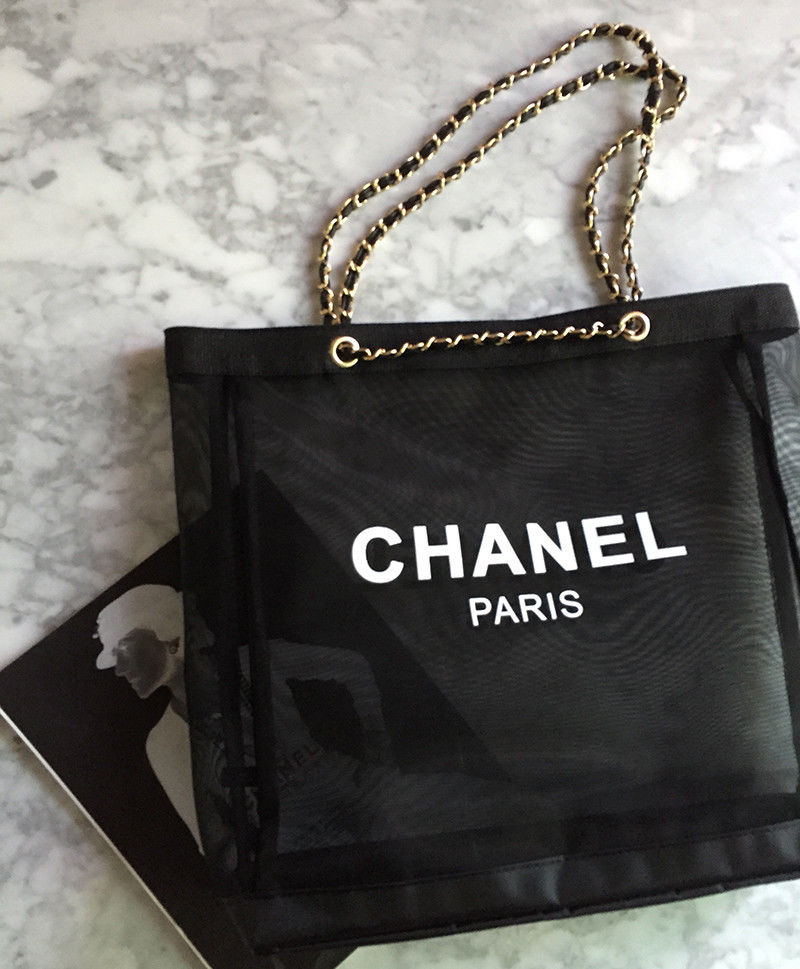 7ef52a1c670b New! VIP Chanel Gold Chain Strap Tote on Storenvy