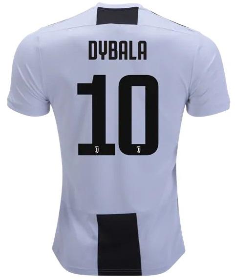 84a2c3f30 Dybala  10 Juventus Home Men Soccer Jersey 2018 19 Stadium Shirt ...